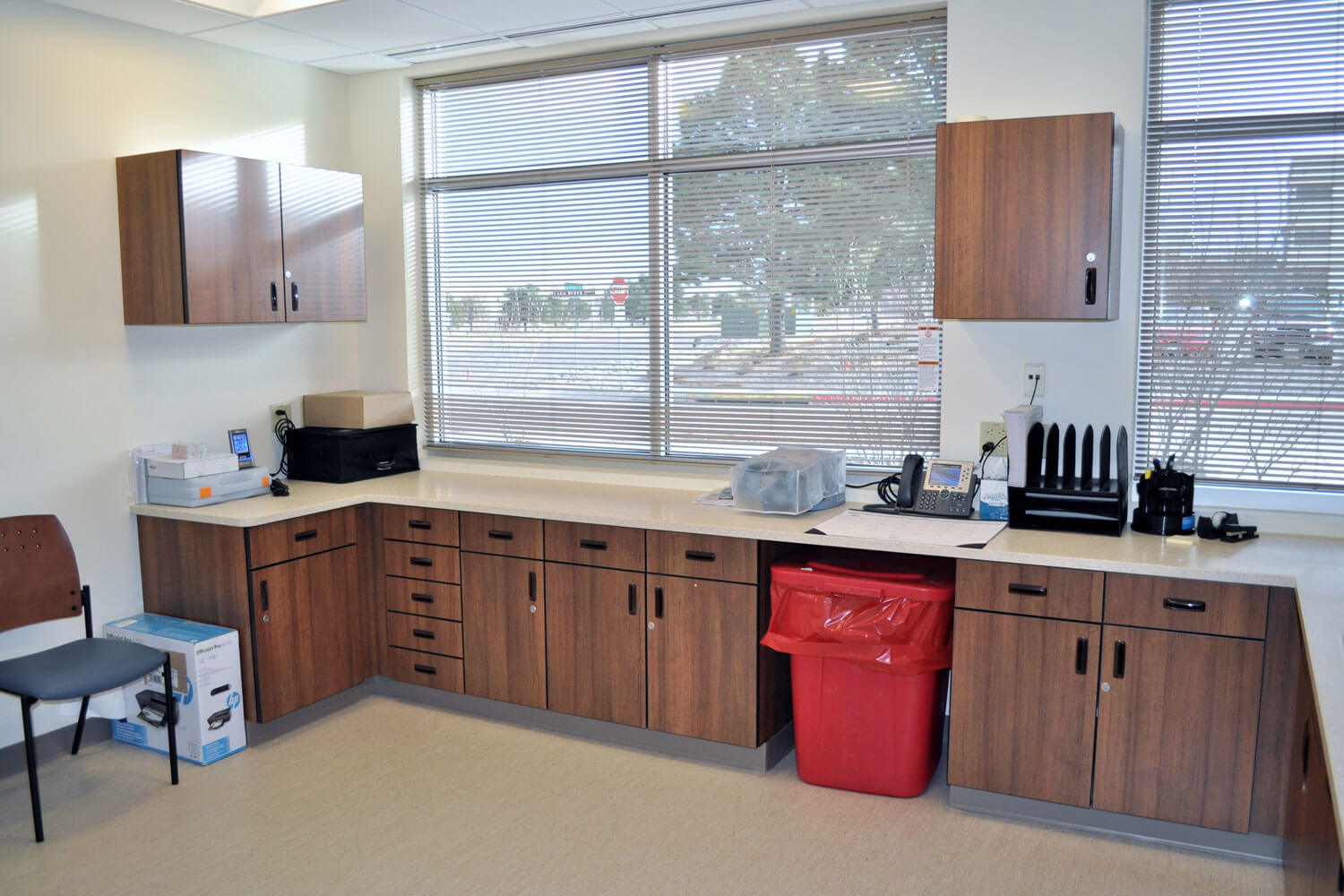 Broadmoor Commons MOB Storage Cabinets GAL
